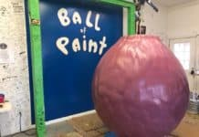 World's-largest-ball-of-paint